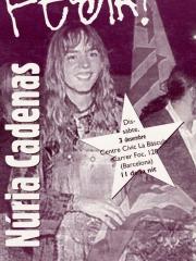 Benvinguda a Núria Cadenas (3/12/1994)