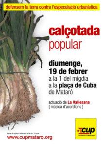 Calçotada popular CUP Mataró (19/2/2006)
