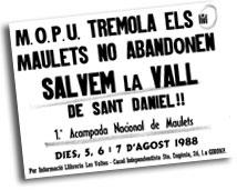 Primer cartell de Maulets