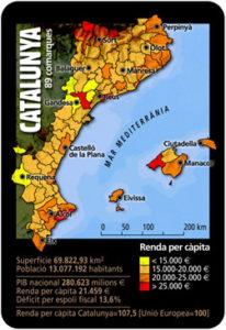 Calendari de la Renda per càpita.2006